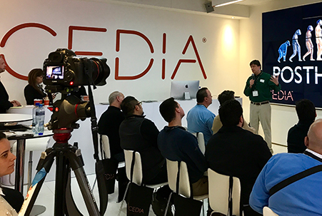Rich Green presenting at CEDIA Expo