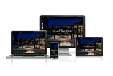 new CEDIA webiste on all devices