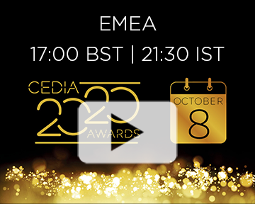 CEDIA Awards 2020 – YouTube Thumbnail EMEA